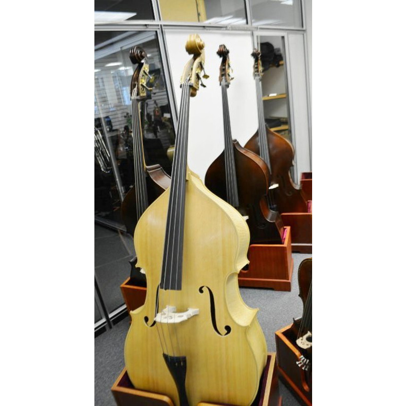 Vienna Strings Special Edition Blonde Bass 3/4 Size Violin Corners