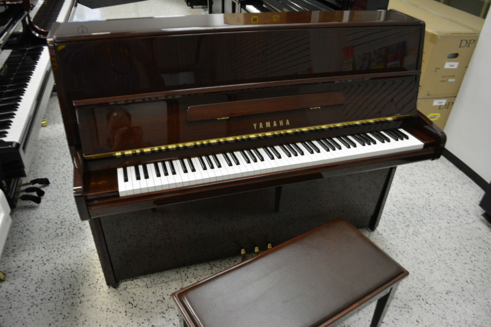 Yamaha P2 Upright Piano - Mahogany Polish