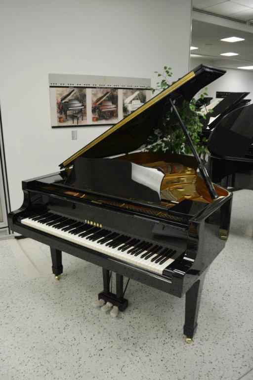 Yamaha C5 Concert Grand Piano - Ebony Polish