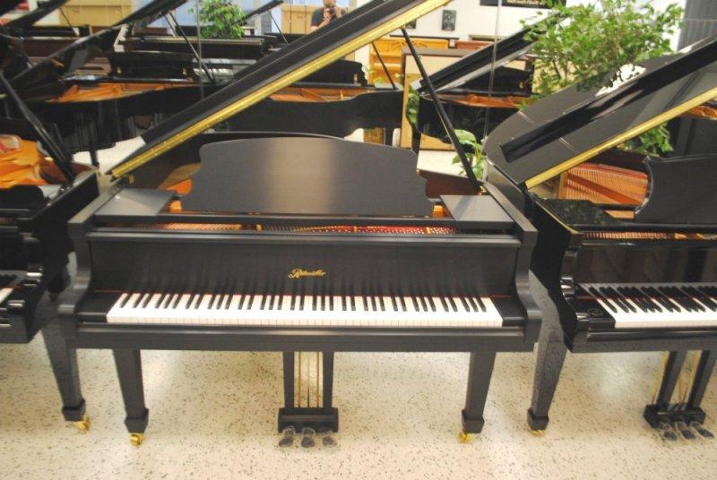 Ritmuller Grand Piano - Ebony Satin