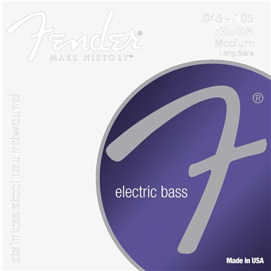 Fender 7350 STAINLESS BASS STRINGS - .045-.105