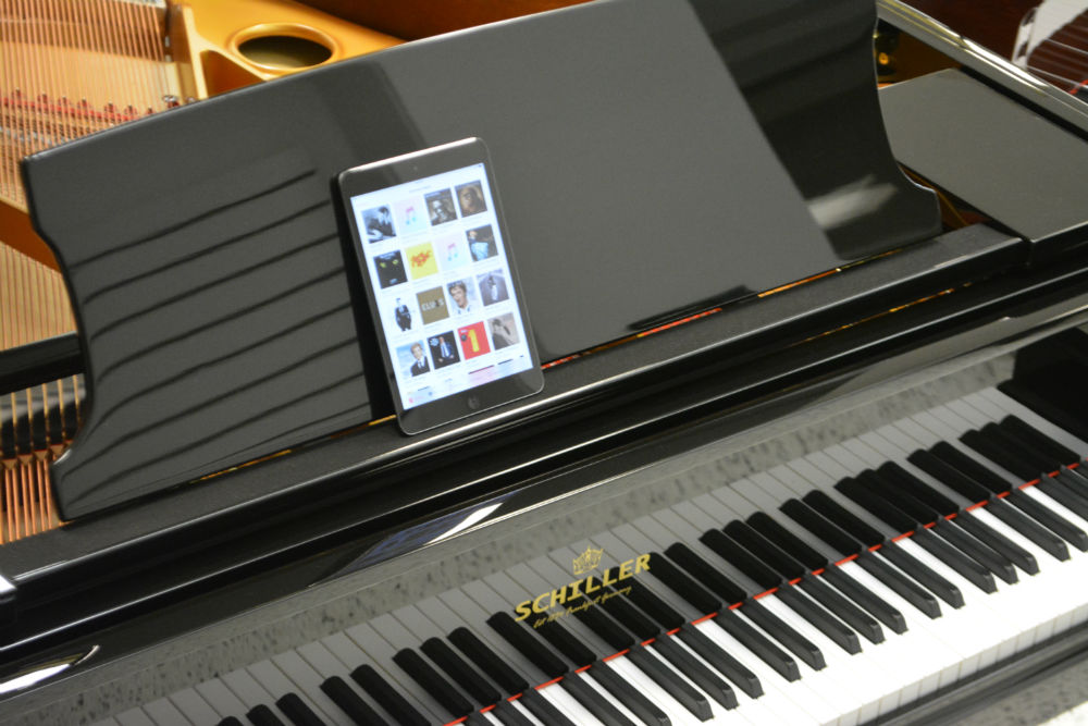 Schiller iPad Piano Disc Player System