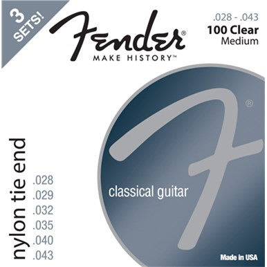 Fender CLASSICAL/NYLON GUITAR STRINGS - 3-PACK
