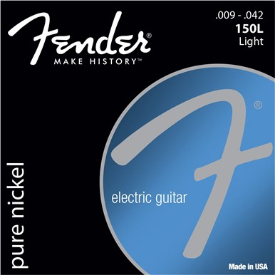 Fender ORIGINAL PURE NICKEL 150 GUITAR STRINGS - .009-.042