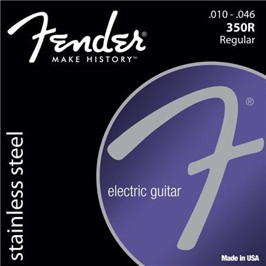 Fender STAINLESS STEEL 350'S - .010-.046