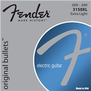 FENDER 3150 ORIGINAL BULLETS™ - PURE NICKEL BULLET ENDS - .009-.040