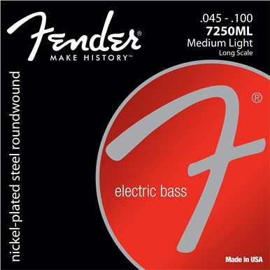Fender 7250 BASS STRINGS - .045-.100