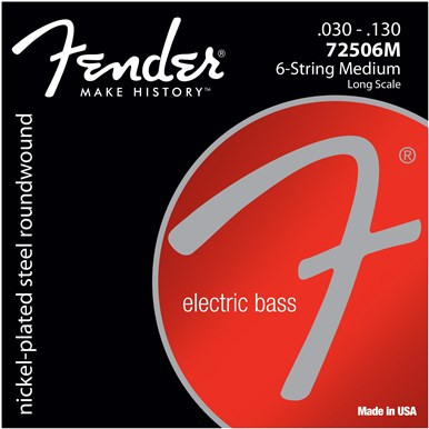 Fender 7250 BASS STRINGS (6-STRING) - .030-.130