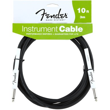 FENDER® 10 ft PERFORMANCE SERIES INSTRUMENT CABLE (STRAIGHT-STRAIGHT)