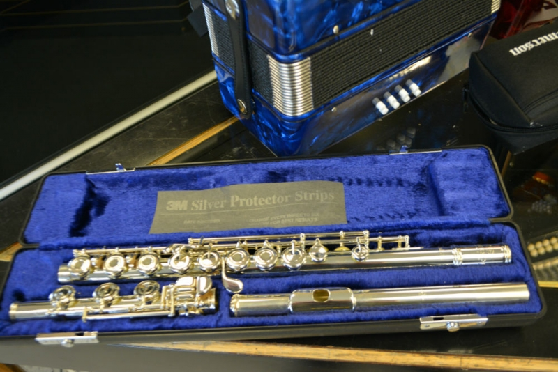 Emerson Solid Silver Open Hole Flute