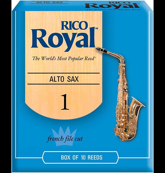 Rico Royal Alto Saxophone Reeds - Box of 10