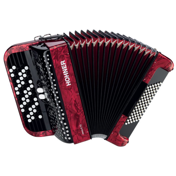 Hohner Nova 72-C, Red
