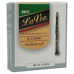 Rico La Voz Clarinet Reeds
