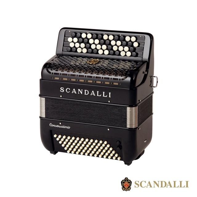 Scandalli C111 72 Bass Chromatic Accordion