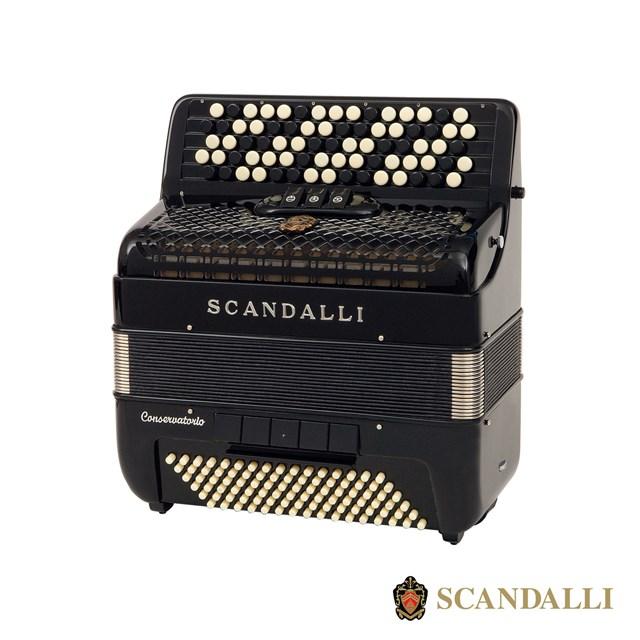 Scandalli C242 96 Bass Chromatic Accordion