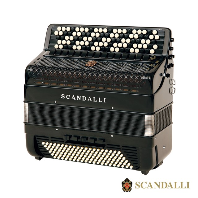 Scandalli BJC 462 120 Bass Chromatic Accordion