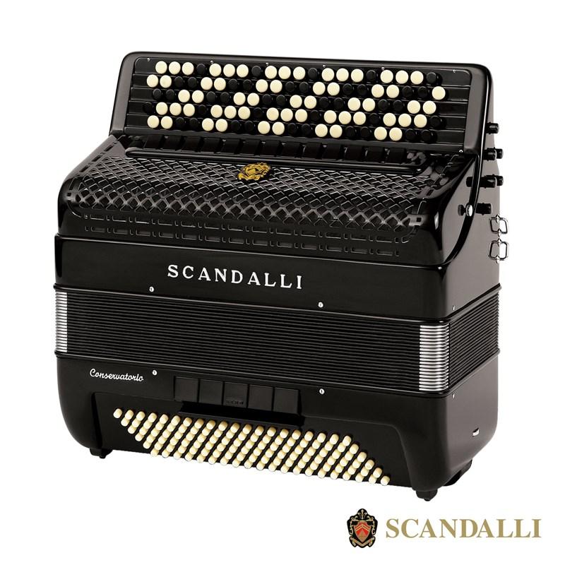 Scandalli BJC 473 120 Bass Chromatic Accordion