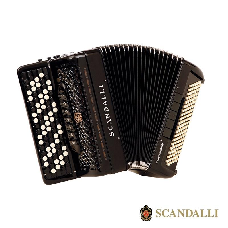 Scandalli C342 118 Bass Chromatic Accordion