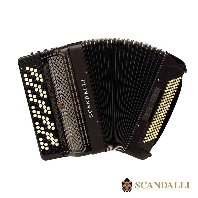 Scandalli C442 120 Bass Chromatic Accordion