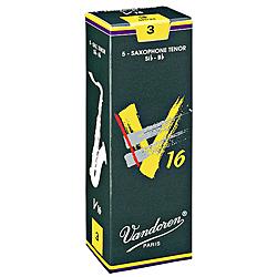 Vandoren V16 Tenor Saxophone Reeds - Box of 5