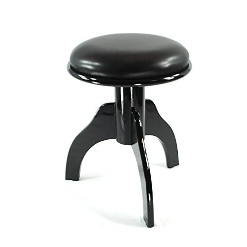 Frederick Piano Stool - Ebony Polish