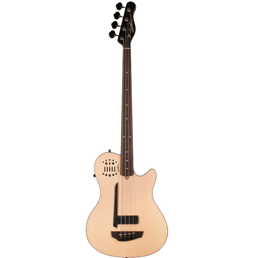 Godin 33652 A4 Fretted Acoustic Electric Bass Guitar