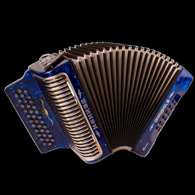 Hohner Corona II XTREME GCF, Pearl Dark Blue