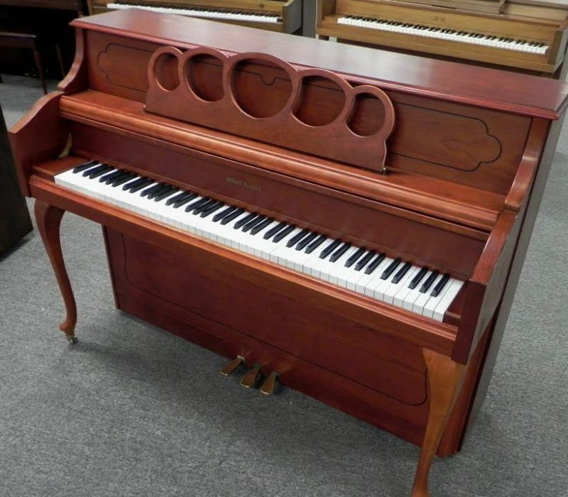 Hobart M. Cable Upright Piano - French Cherry