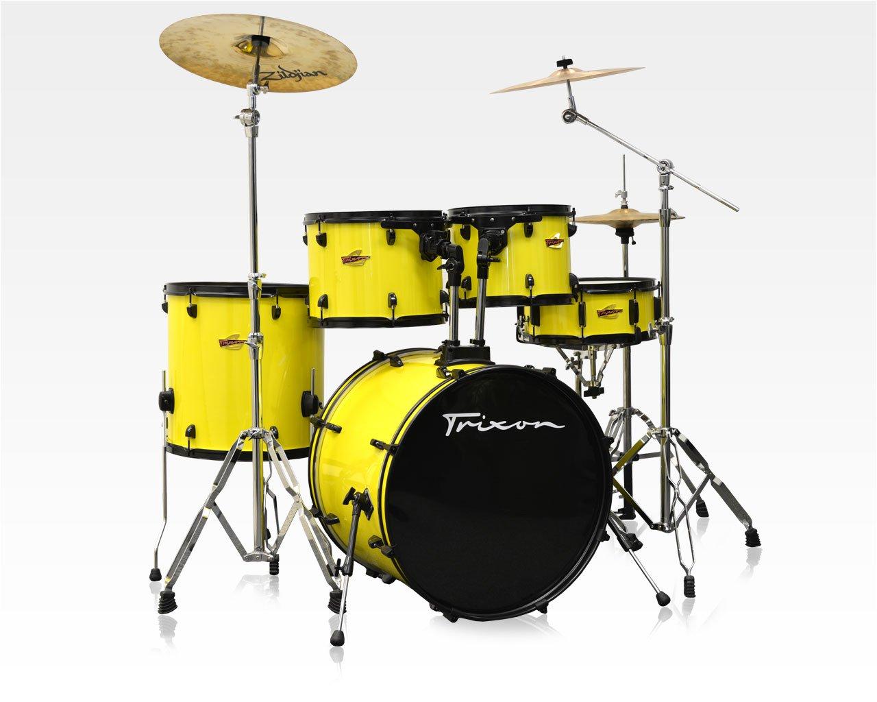Trixon 2014 5-Piece Birch Kit - Yellow Jacket