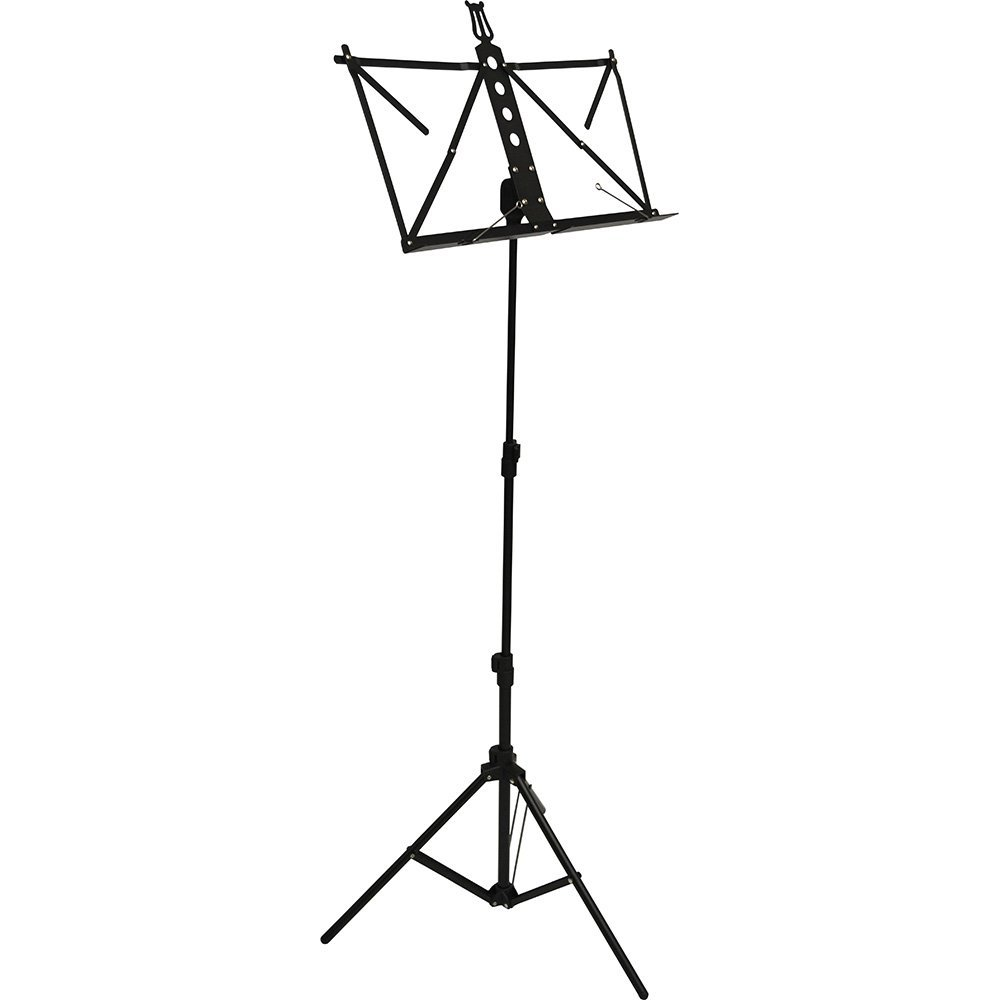 Frederick Grip & Go Music Stand - Aluminum (Anodized Black)