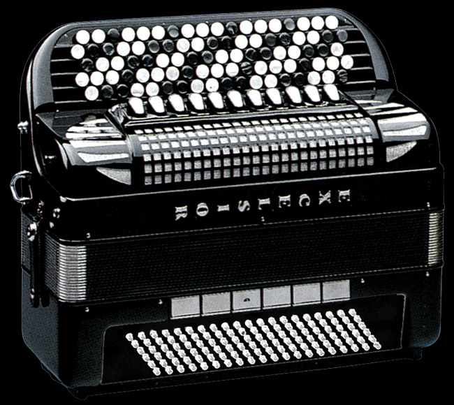 Excelsior 610 120 Bass Chromatic Accordion