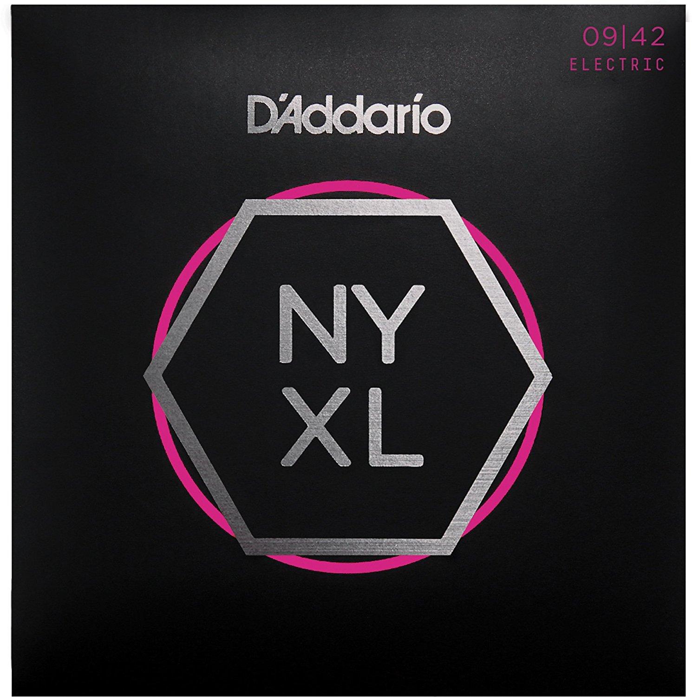 D Addario NYXL0942 Nickel Wound, Super Light, 09-42