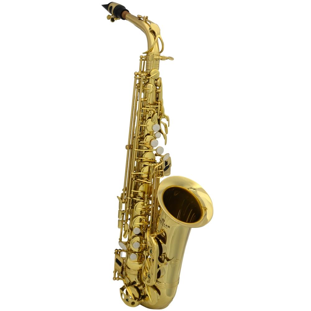 Schiller La Première Alto Saxophone - Gold Lacquer