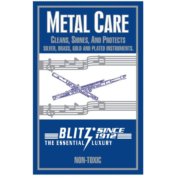Blitz Metal Instrument Polishing Cloth