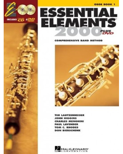 Essential Elements 2000 Oboe Book CD/DVD