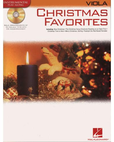 Christmas Favorites Playalong for Viola Book and CD