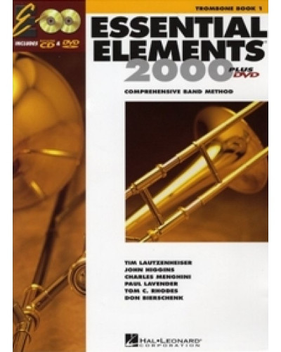 Essential Elements 2000 Trombone Book CD/DVD
