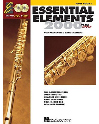 Essential Elements 2000 Flute Book CD/DVD