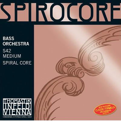 Thomastik Spirocore Orchestral Tuned Bass String Set