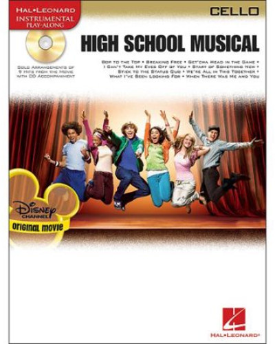 High School Musical for Cello Book and CD