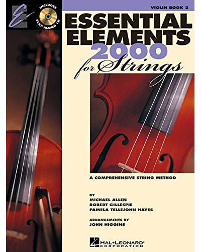 Essential Elements 2000 for Strings Cello Book II and CD