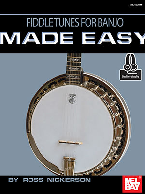 Fiddle Tunes for Banjo Made Easy Book and Online Audio