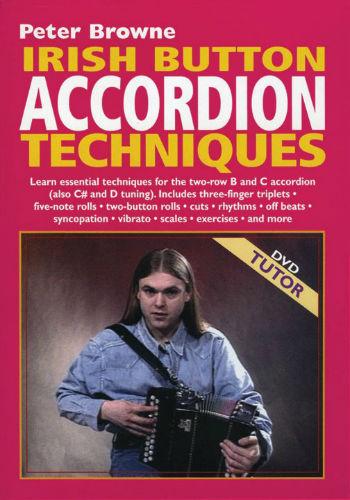 Irish Button Accordion Techniques Intermediate DVD