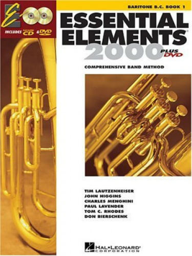 Essential Elements 2000 Baritone or Euphonium Book CD/DVD