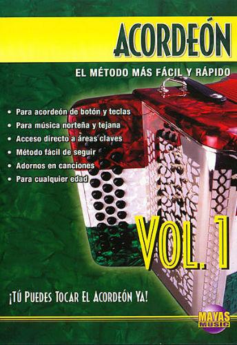 Acordeón Volumen 1 DVD