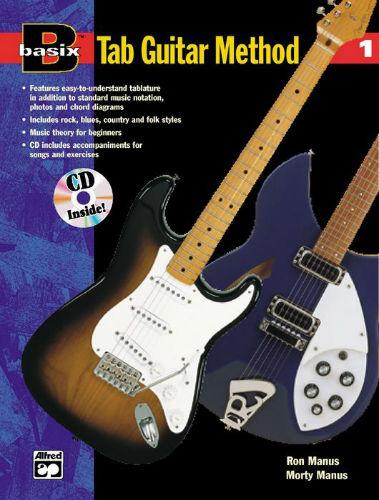 Alfred Basix TAB Guitar Method 1 Book and CD