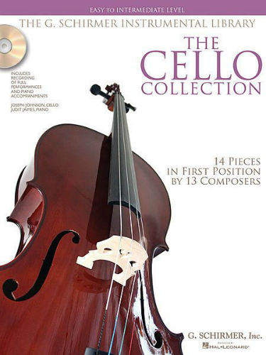 The Cello Collection Easy to Intermediate Book and CD