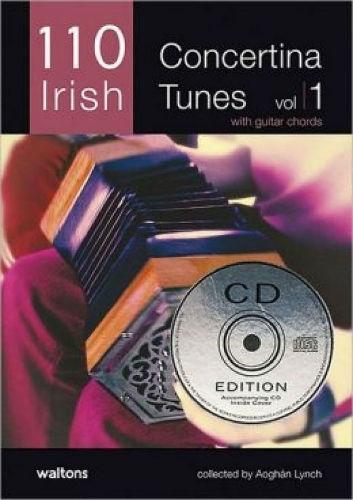 110 Irish Concertina Tunes Volume 1 Book and CD