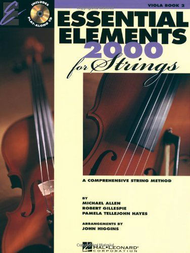 Essential Elements 2000 for Strings Book II with CD for Viola