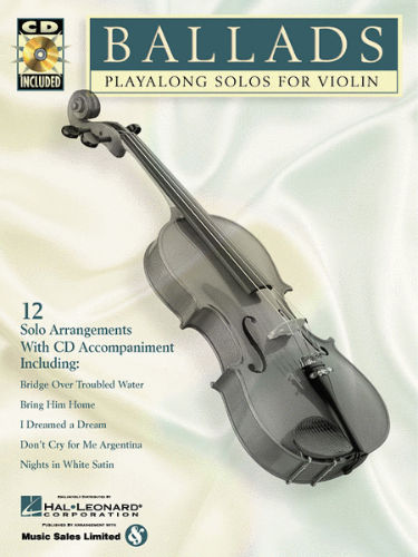 Ballads Playalong Solo for Violin Book and CD